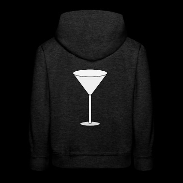 Cocktail glass - Kids' Premium Hoodie