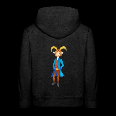 King of the Alps - Kids' Premium Hoodie