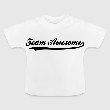 Team Awesome! - Baby-T-skjorte