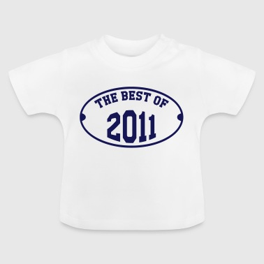 The Best of 2011 - Baby-T-shirt