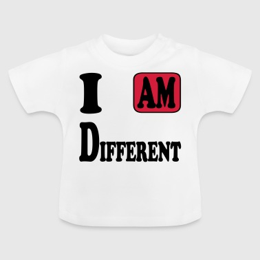I am Different - T-shirt Bébé