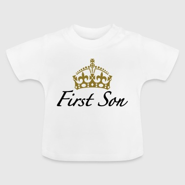 First Son | Crown | Krone - Baby T-Shirt