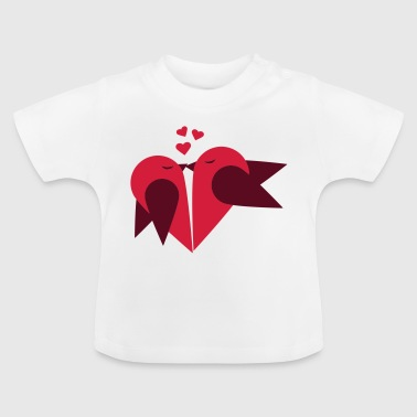 Loving heart, Valentin day - Baby T-Shirt