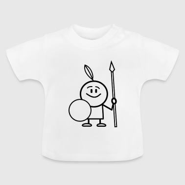 indian cartoon - Baby T-shirt
