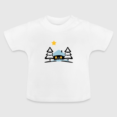christmas house at North Pole - Baby T-Shirt