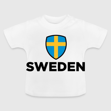 Nationell flagg - Baby-T-shirt