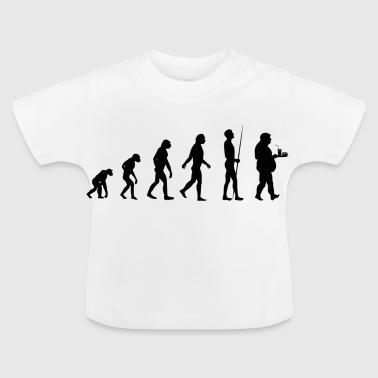 Fortgang Evolution des Essens - Baby T-Shirt