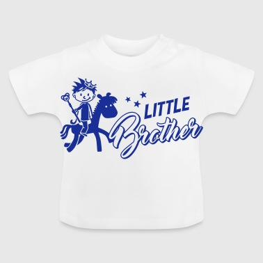 Little brother - big brother - siblings - baby - Baby T-Shirt