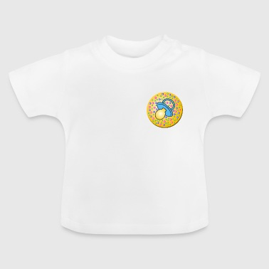 pacifier / blue pacifier - Baby T-Shirt