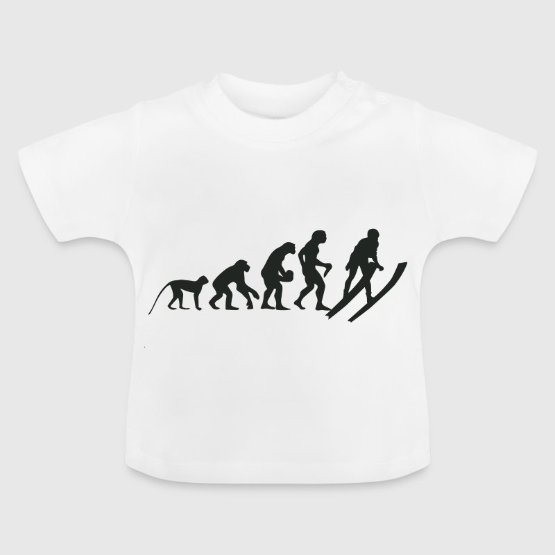 Evolution Ski - Baby T-Shirt