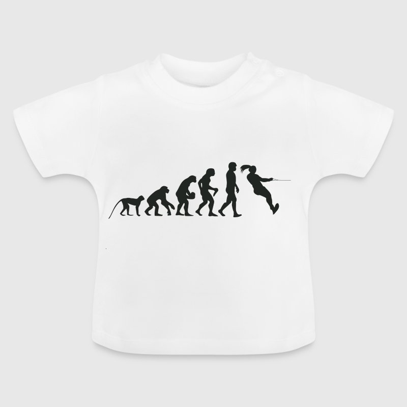 Evolution Wasserski - Baby T-Shirt