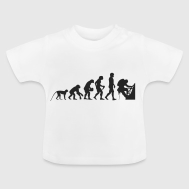 Evolution bergsbestigare - Baby-T-shirt