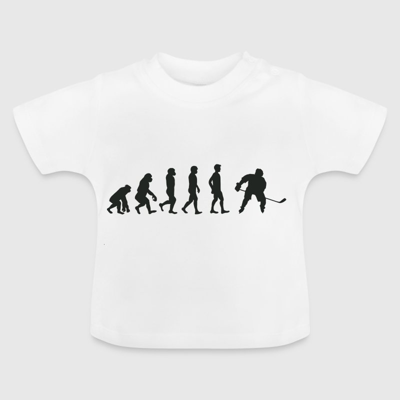 Evolution Eishockey - Baby T-Shirt