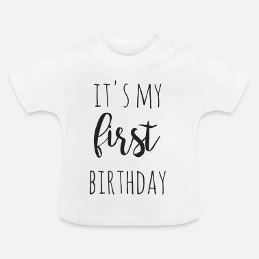 Top Eerste Verjaardag T-Shirts online bestellen | Spreadshirt @CY55