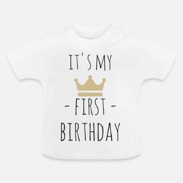 Voorkeur Eerste Verjaardag T-Shirts online bestellen | Spreadshirt #VK64