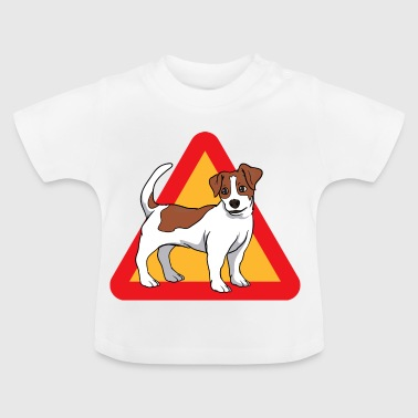 Jack Russell Terrier dog - Baby T-Shirt