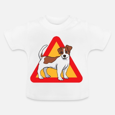 Jack Russel Jack Russell Terrier dog - Baby T-Shirt