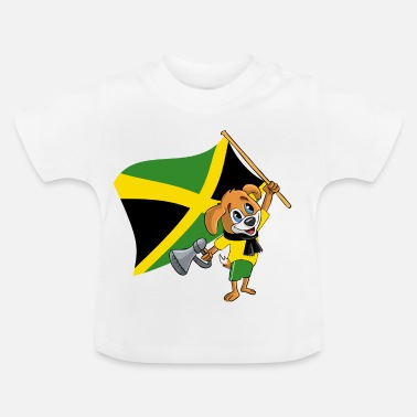 Jamaica Jamaica fan dog - Baby T-Shirt