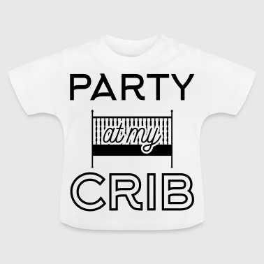 Babydesign: Party at my crib - T-shirt Bébé