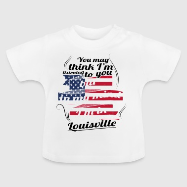 Louisville THERAPY HOLIDAY AMERICA USA TRAVEL Louisville - Baby T-Shirt