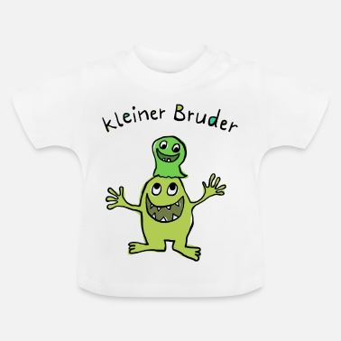 Monster Kleiner Bruder - Baby T-Shirt