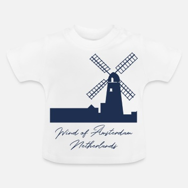 Holland Amsterdam - Holland - Nederland - Gift - Baby T-shirt