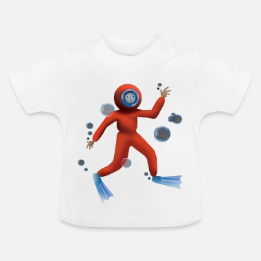 Diving Deep Sea Diving - Baby T-Shirt
