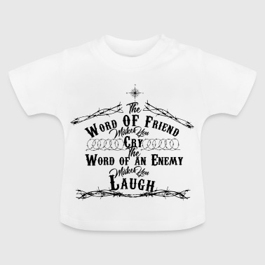 Words of Friends - Baby T-Shirt