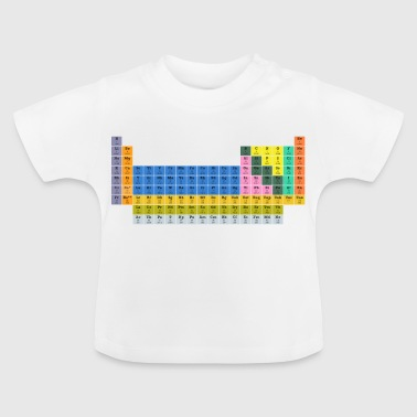 periodiske system - Baby T-shirt