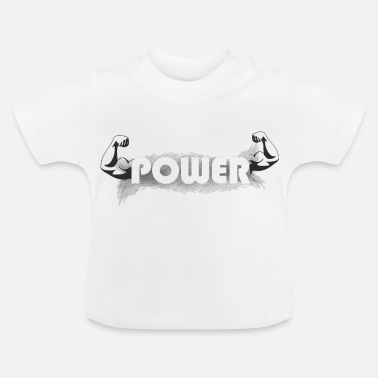 Muscle the muscles - Baby T-Shirt