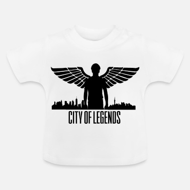 League Of Legends City of Legends - Ciudad de Angel Legends - Camiseta bebé