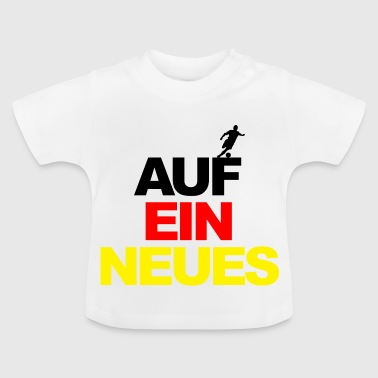 European Championship on a new world champion football Germany - Baby T-Shirt