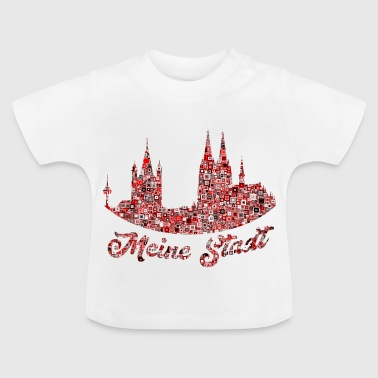 My city Cologne Popart - Baby T-Shirt