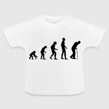 Pensiones Pension Pension Grandpa Granny Evolution Gift - Camiseta bebé