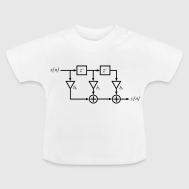FIR filter digitale signaalverwerking - Baby T-shirt