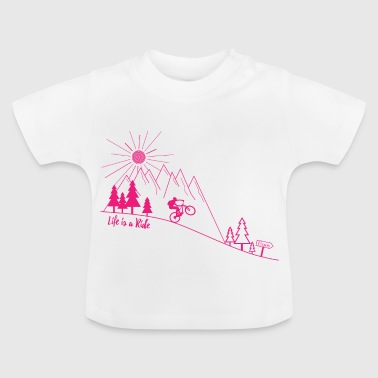 Mountainbike Radsport - Baby T-Shirt