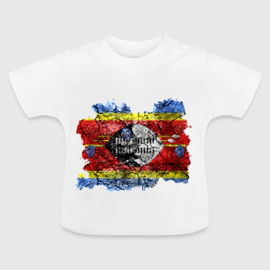 Swaziland vintage flag - Baby T-Shirt
