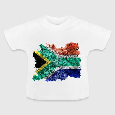 South Africa vintage flag - Baby T-Shirt