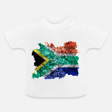 South Africa South Africa vintage flag - Baby T-Shirt