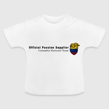 Colombie Fan shirt Passion & Heart - T-shirt Bébé
