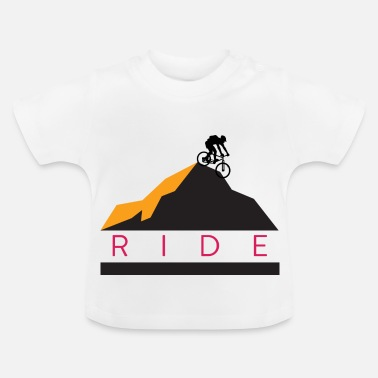 Bike Bike - Ride - Baby T-shirt