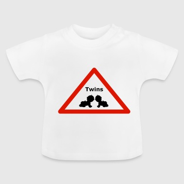 Achtung! Zwillinge! - Baby T-Shirt