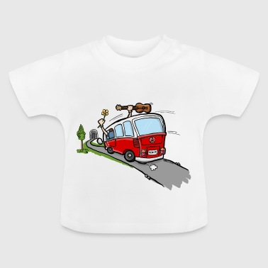 Hippie Van Bus - Baby T-shirt