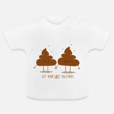 Grappige stront overhemd - Baby T-shirt