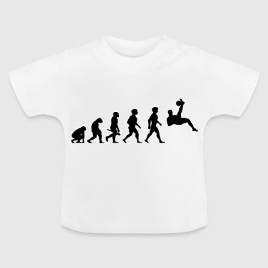 Football Player Evolution Football Player Football - Baby T-Shirt
