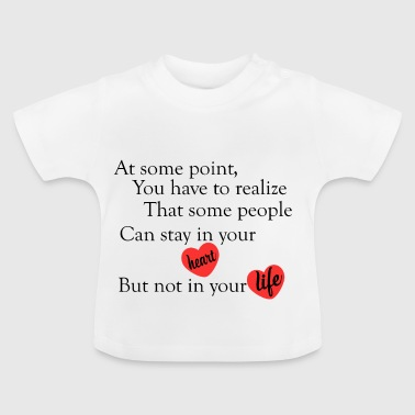 love quotes cool - Baby T-Shirt