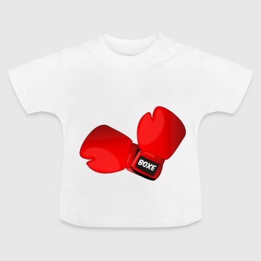 Red boxing gloves boxing gloves - Baby T-Shirt