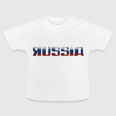 Russia Russia flag national flag colors - Baby T-Shirt