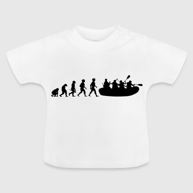 Evolution rafting whitewater water sports - Baby T-Shirt