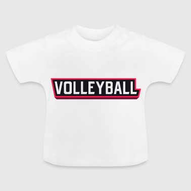 Volleybal voleibol volleybal volleybal - Baby T-shirt